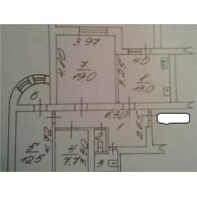 3 к-кв., пр-кт Александра Корсунова, 40 к 7, 1/6 этажей, площадь: 70/39/13 кв.м.